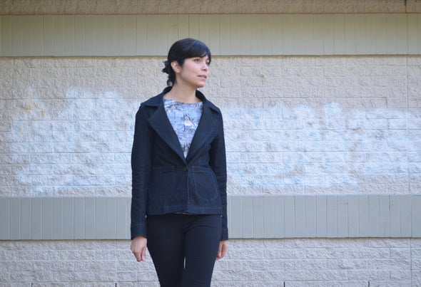 Santiago Jacket:  PDF Sewing Pattern and Tutorial - DGpatterns