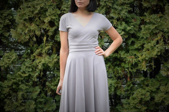 Paula Dress Pattern:  Instant PDF Sewing PAttern - DGpatterns