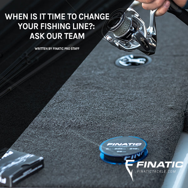 When Is It Time to Change Your Fishing Line? ASK OUR TEAM