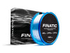 Finatic Pro Series 150 yard 20 pound fluorocarbon fishing line with retail packaging