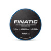 Finatic Pro Series 150 yard fluorocarbon fishing line 10lb spool