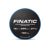 Finatic Pro Series 150 yard fluorocarbon fishing line 12lb spool