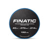 Finatic Pro Series 150 yard fluorocarbon fishing line 20lb spool