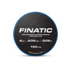 Finatic Pro Series 150 yard fluorocarbon fishing line 8lb spool