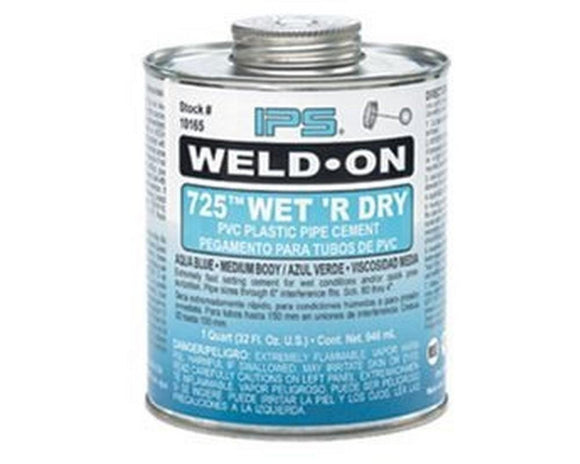 Large Tin of Solvent Weld Glue (500ml) - SKS Wholesale