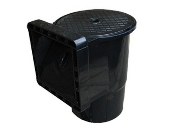 Standard Black In-wall skimmer SB264 (Liner / Concrete) - SKS Wholesale