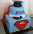 Superman Graduation Cake