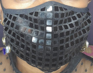 Sequence Black Face Mask