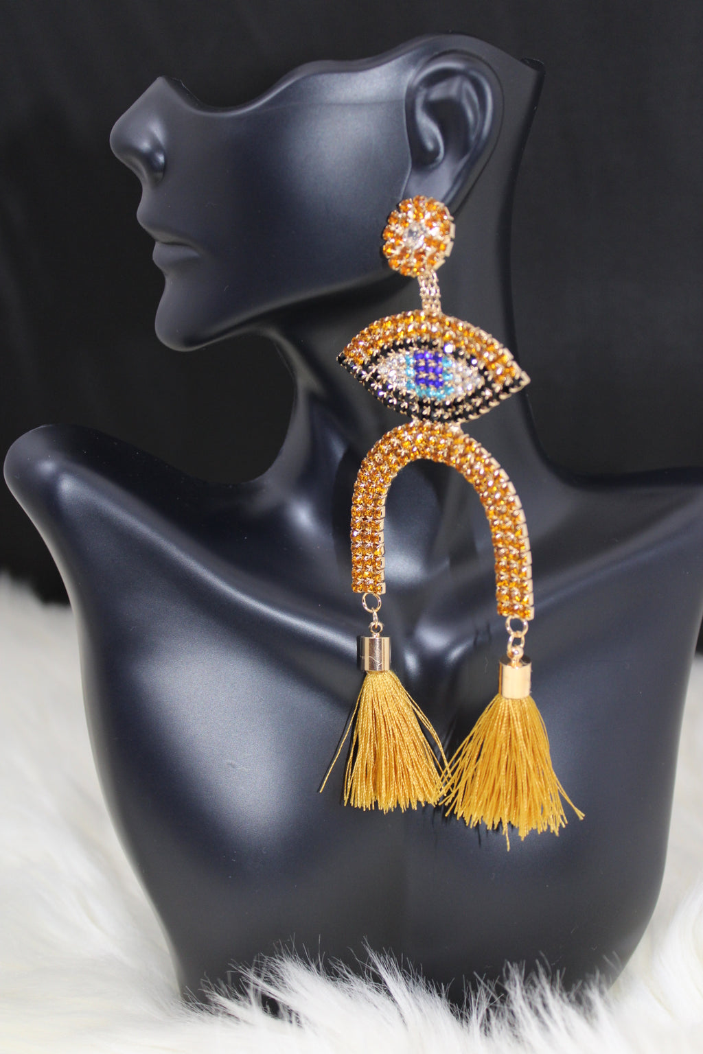Two Side Tassel Earrings