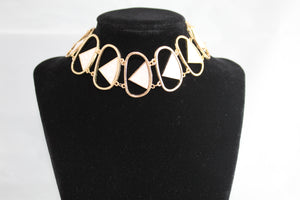 Hollow Ring Chocker