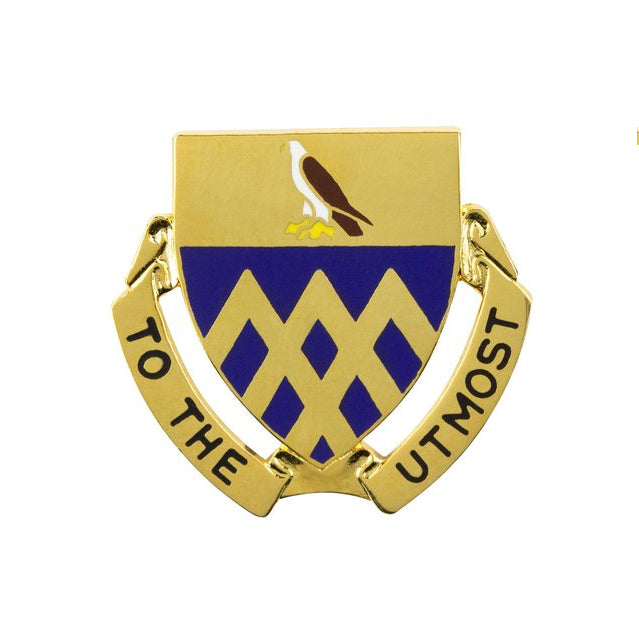 101st Cavalry Regiment Unit Crest (To the Utmost)