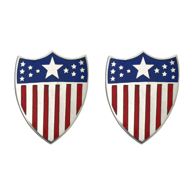 U.S. Army Adjutant General Collar Devices, Officer