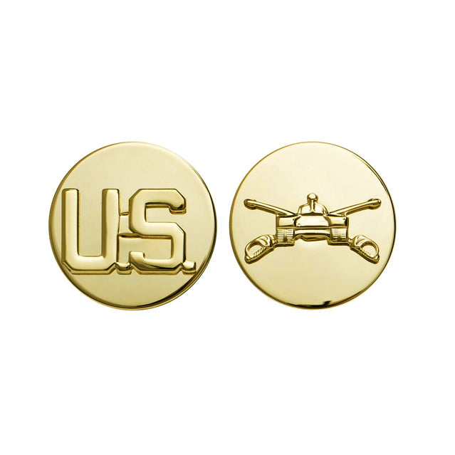 U.S. Army Armor & U.S. Collar Device, Enlisted