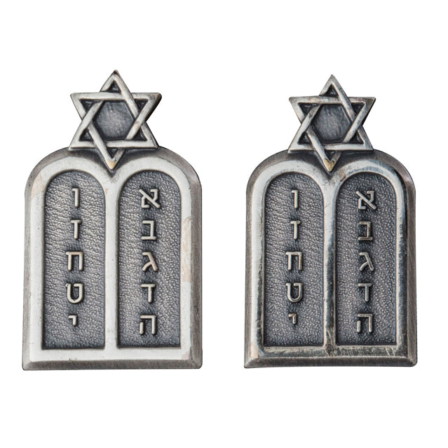 U.S. Army Jewish Chaplain Collar Devices, Officer
