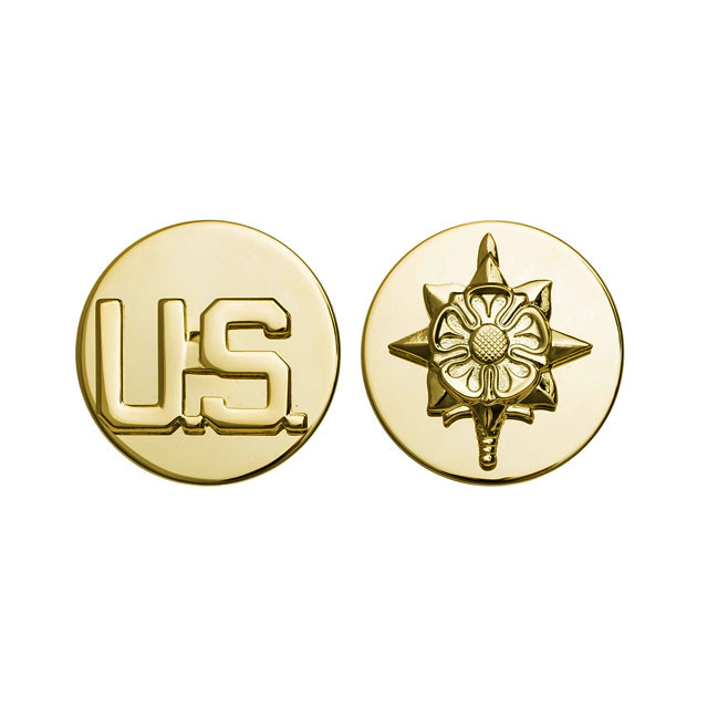 U.S. Intelligence & U.S. Collar Device, Enlisted