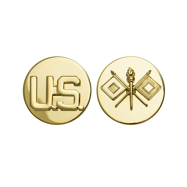 U.S. Signal Corps & U.S. Collar Device, Enlisted