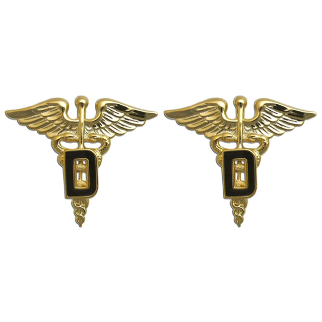 U.S. Army Dental Collar Devices, Officer