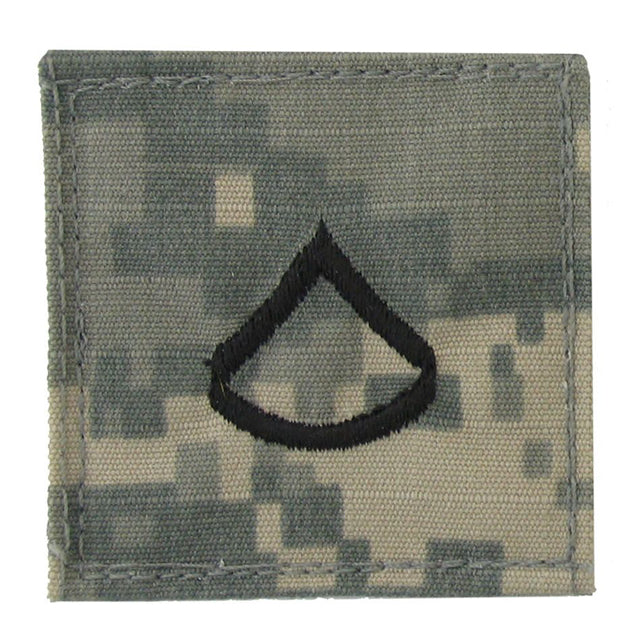 U.S. Army Private First Class E-3 Rank, OCP or ACU
