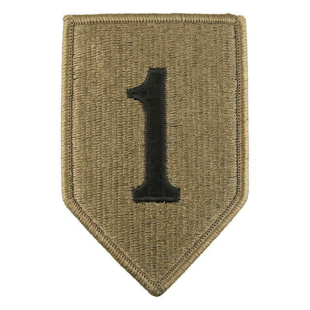 1st Infantry Division Patch, OCP
