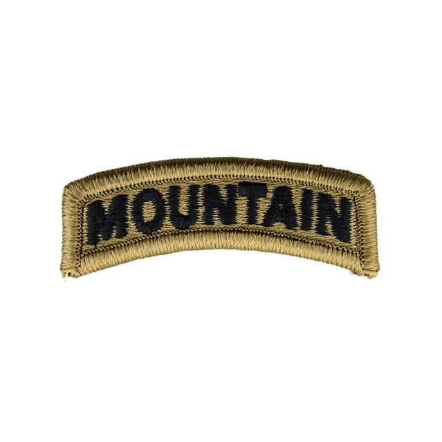 Mountain Tab Patch, OCP