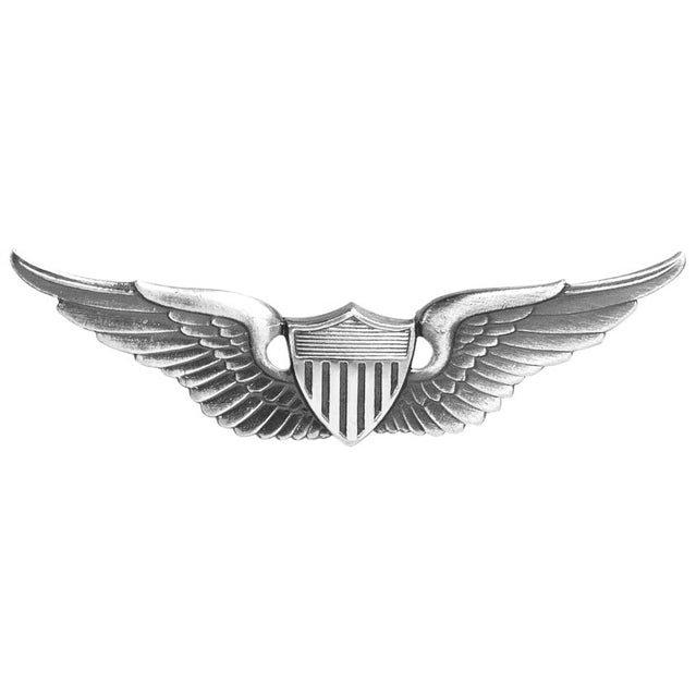 Army Aviator Basic Badge, Oxidized