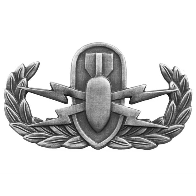 Explosive Ordinance Disposal Basic Badge, Oxidized