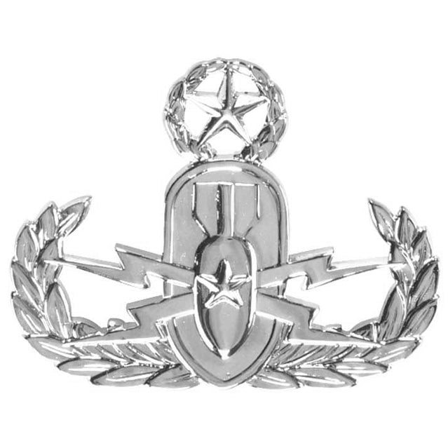 Explosive Ordinance Disposal Master Badge, Sta-Brite