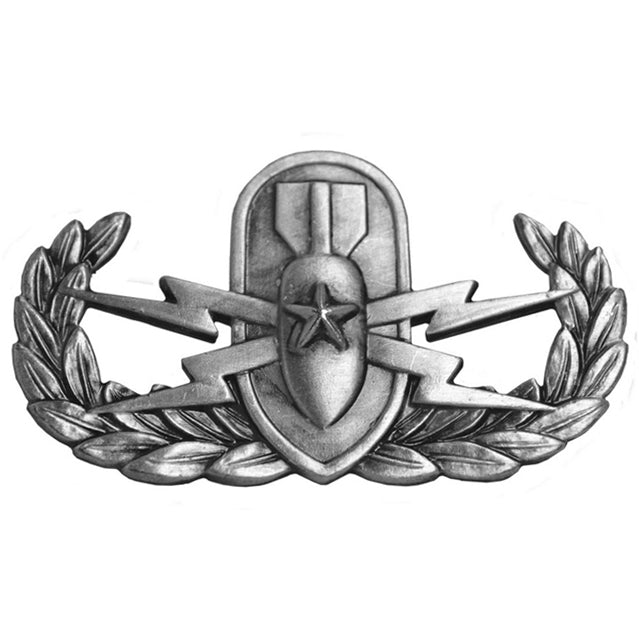 Explosive Ordinance Disposal Senior Badge, Oxidized