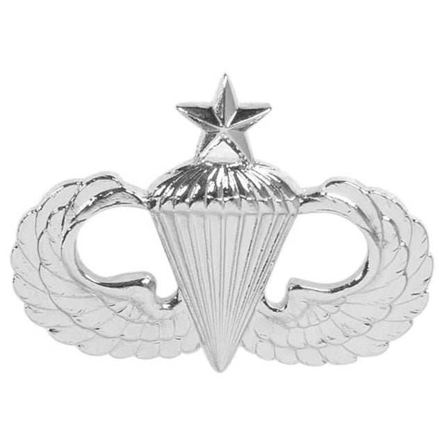 Parachutist Senior Badge, Sta-Brite