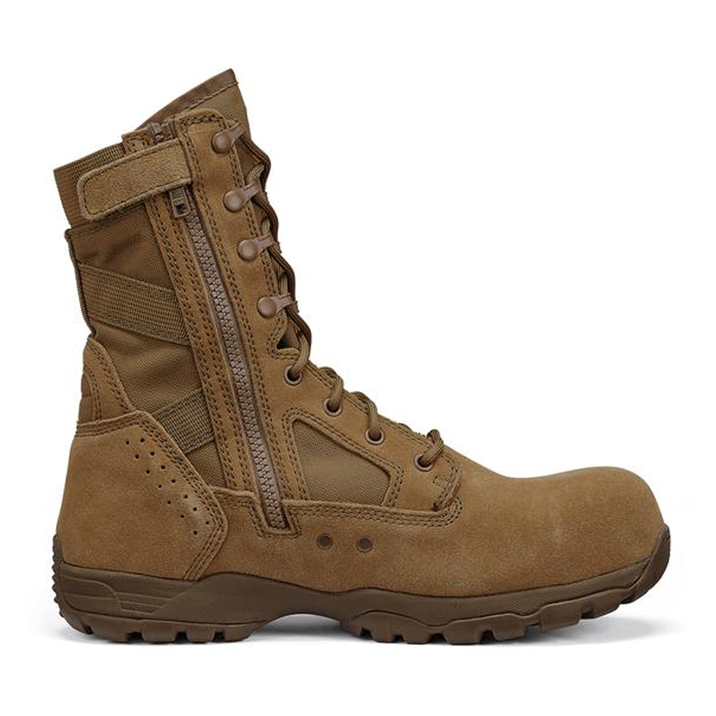 Tactical Research Flight Boots, Side-Zip & Composite Toe
