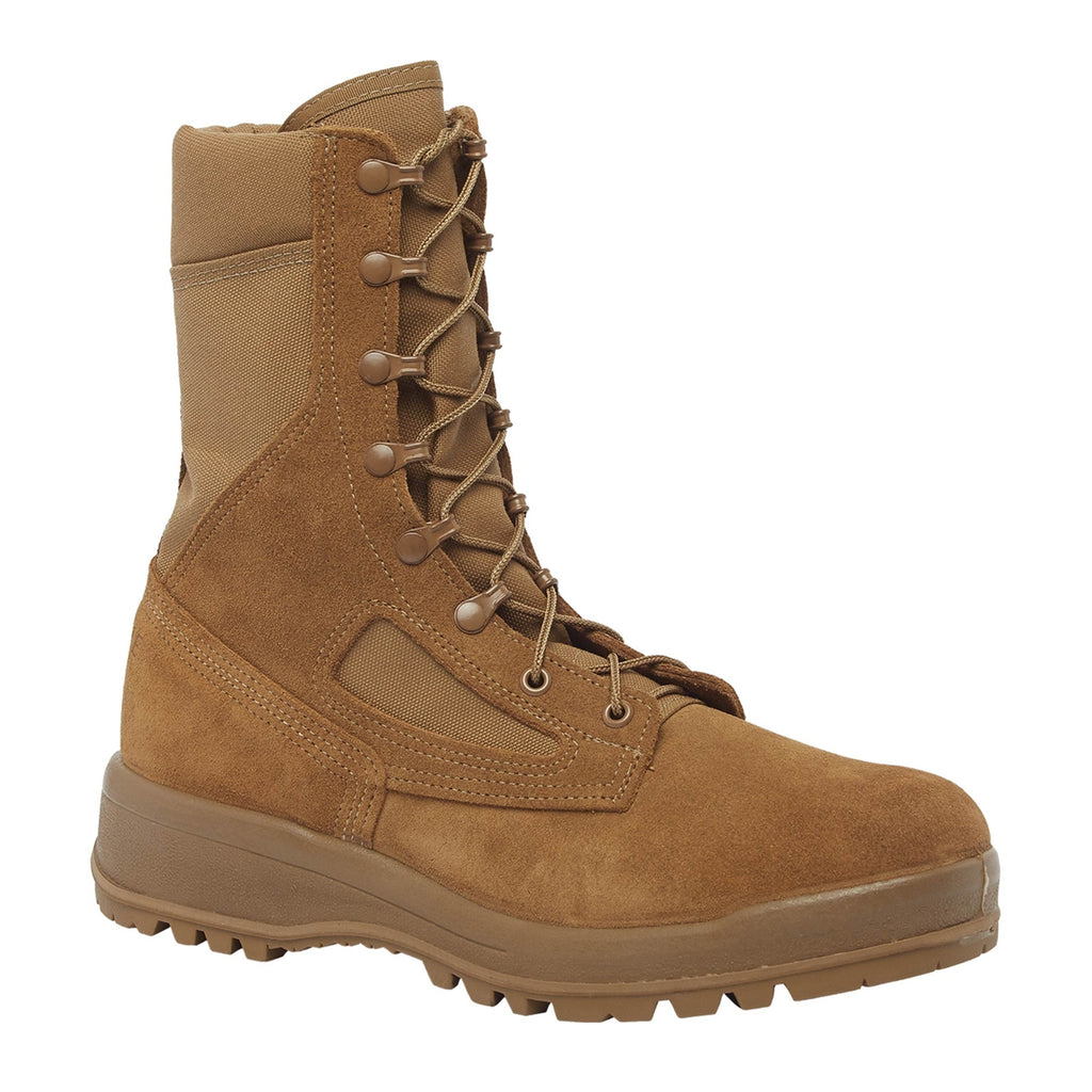 Belleville Hot Weather Combat Boots, Coyote Brown