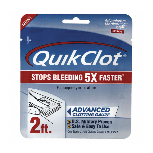 Quikclot Medical Gauze, 2 Ft.