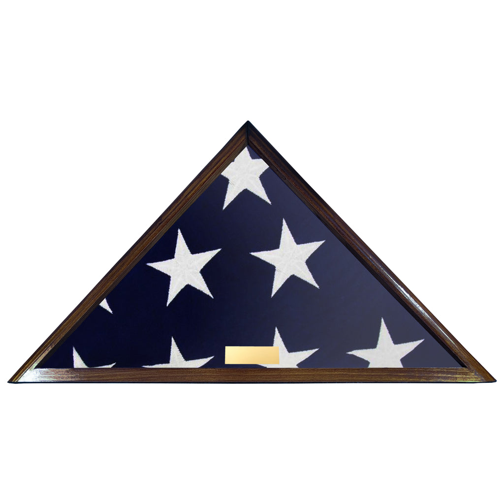 Flags of Our Fathers Collection, Burial Display Case - Includes Free Engraved Plaque