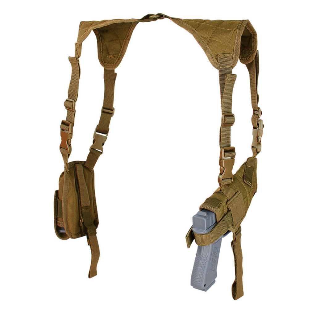 Modular Universal Shoulder Holster & Pouches