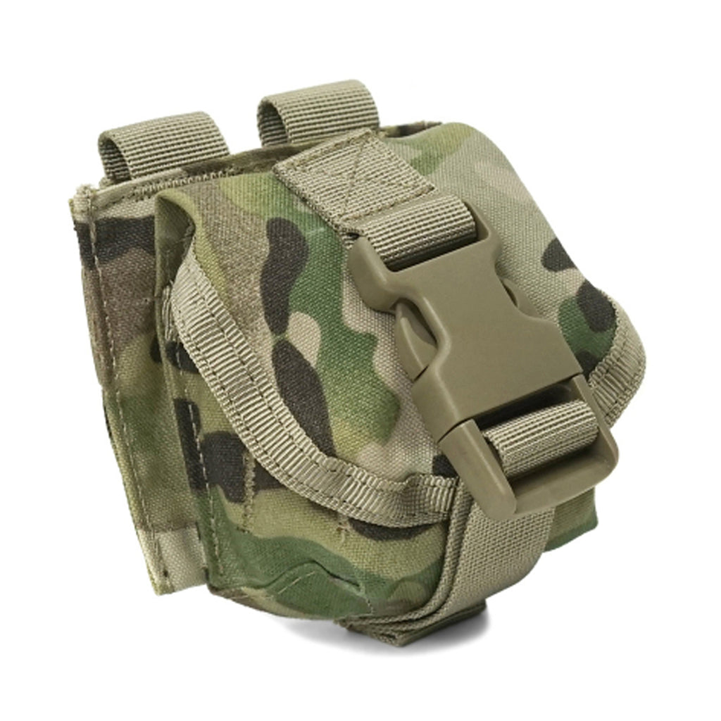 Single Fragmentation Grenade Pouch, MultiCam