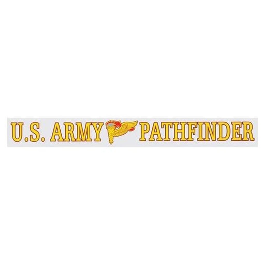 U.S. Army Pathfinder Window Strip Decal