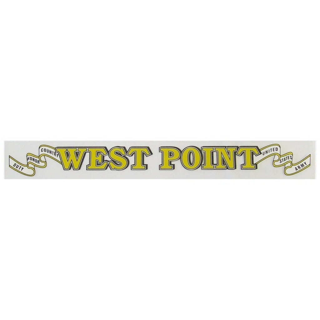 West Point Window Strip Decal