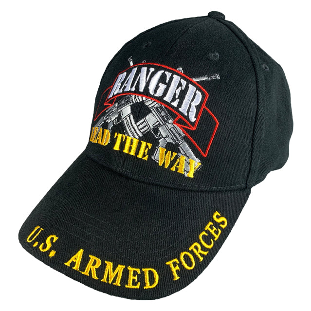 Army Rangers Hat, Black