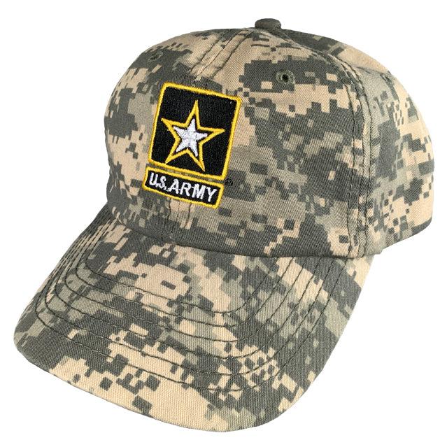 Army Star Logo Hat, ACU Digital