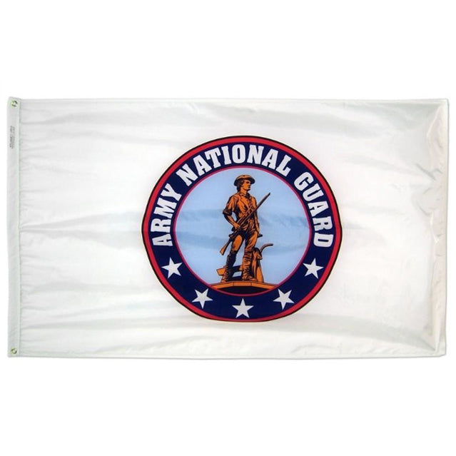 U.S. Army National Guard 3'x5' Flag, Polyester