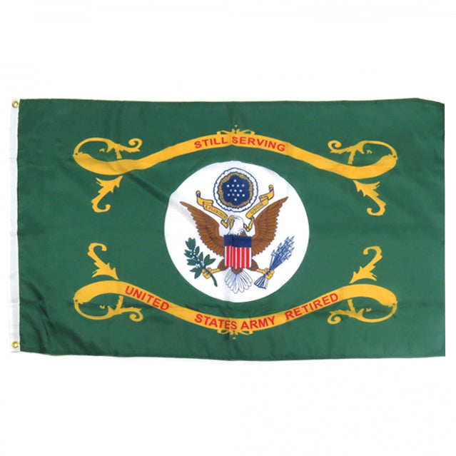 U.S. Army Retired 2'x3' Flag, Polyester
