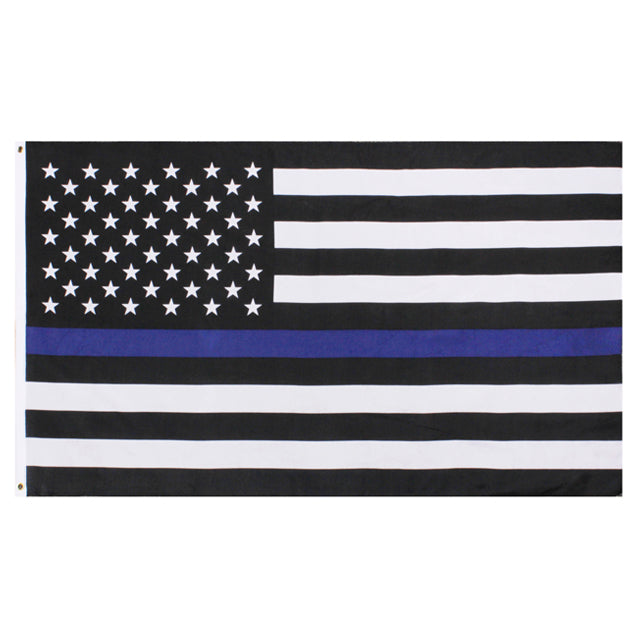 U.S. Thin Blue Line Flag, Polyester