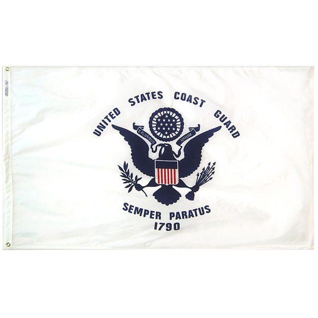 U.S. Coast Guard 3'x5' Flag, Polyester
