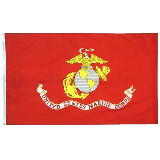 U.S. Marine Corps Flag, Heavy-Duty Nylon