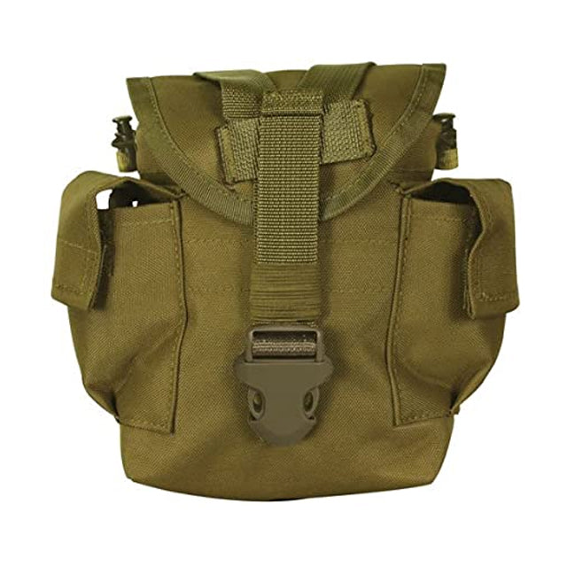 MOLLE Canteen Pouch, Coyote Brown