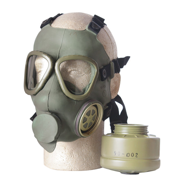 M-1 Gas Mask & Filter Cannister