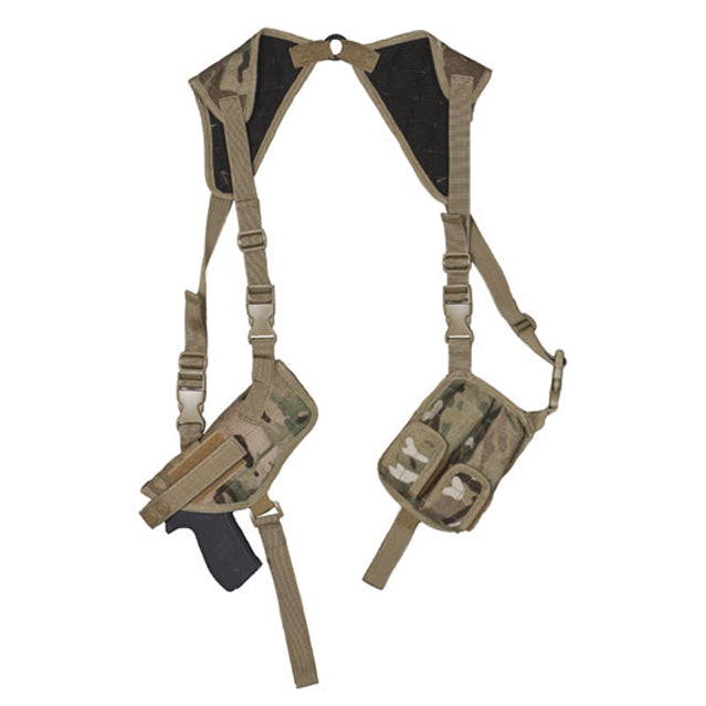 Modular Universal Shoulder Holster & Pouches, MultiCam
