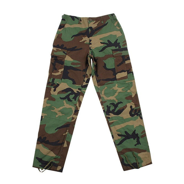 U.S. Military Woodland BDU Trousers, Pre-owned