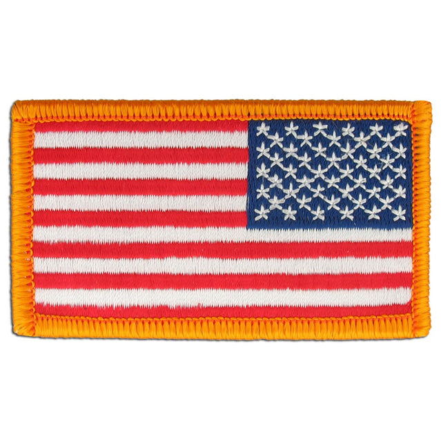 U.S. Army Regulation Flag Patch Reversed, Color