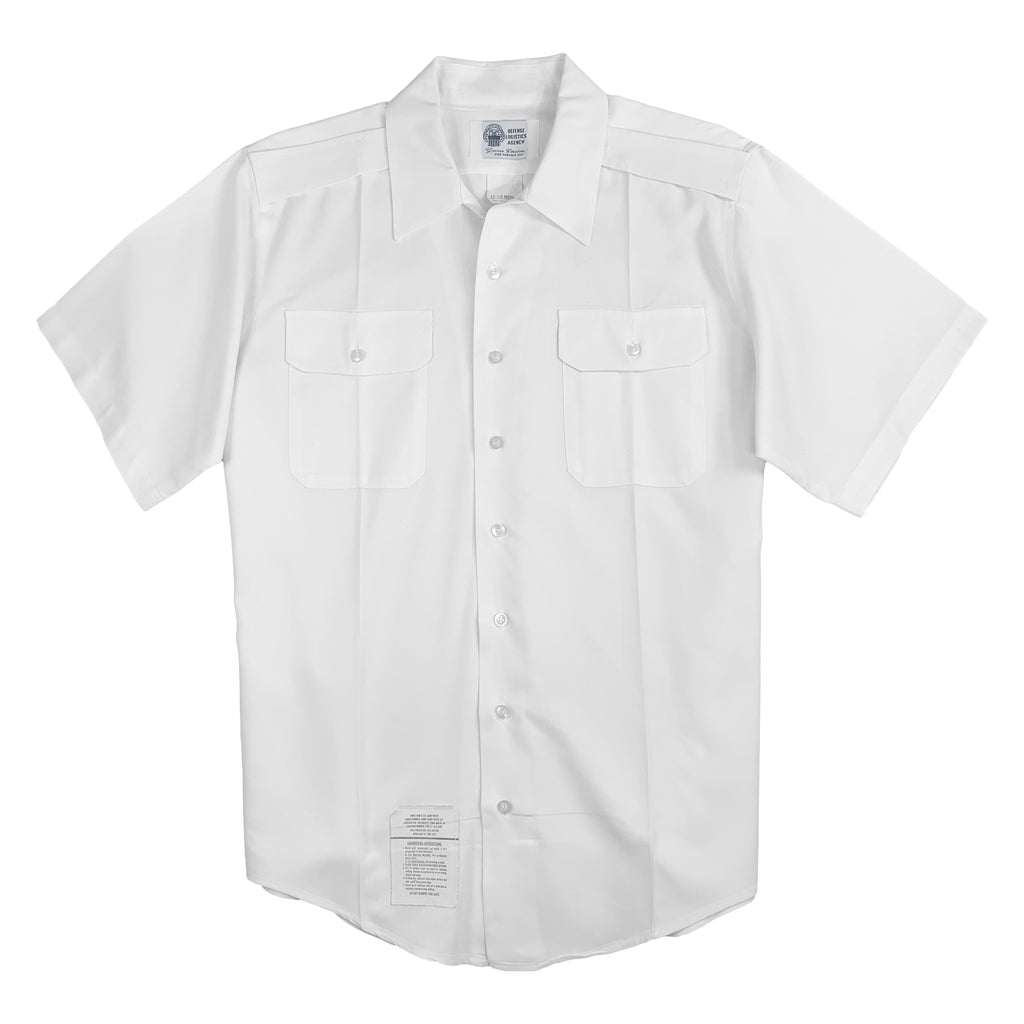 U.S. Army ASU White Short Sleeve Shirt, Male